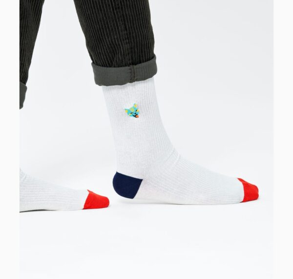 87420us000076 ribb embroidery cat sock 1