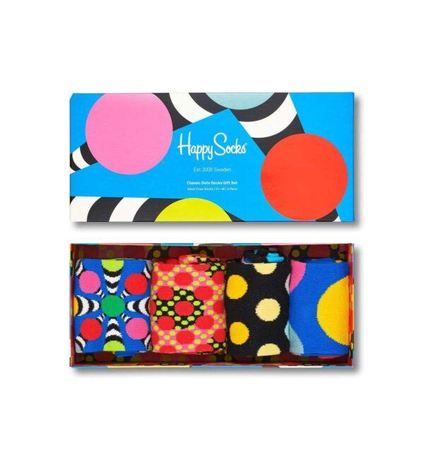 87520uspp0005 classic dots socks gift set 6